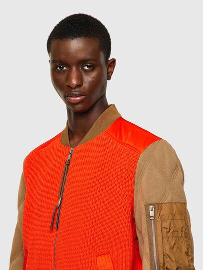Diesel - K-OHIO, Brown/Orange - Jackets - Image 3