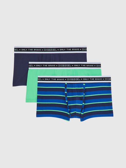 Diesel - UMBX-DAMIENTHREEPACK, Black/Blue - Trunks - Image 1