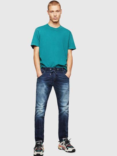 Diesel - Krooley JoggJeans 069IE, Dark Blue - Jeans - Image 6