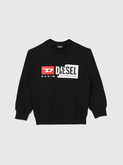 Diesel - SGIRKCUTY OVER, Black - Sweatshirts - Image 1