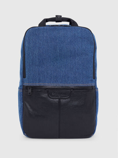 Diesel - GINKGO FP, Blue Jeans - Backpacks - Image 1