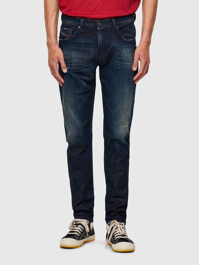 Diesel - D-Strukt JoggJeans® 09B50, Azul Oscuro - Vaqueros - Image 1
