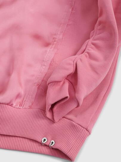 Diesel - SFTARAP, Pink - Sweatshirts - Image 3