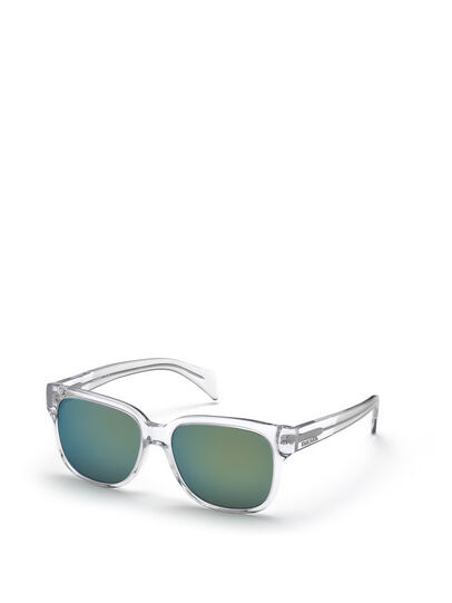 Diesel - DL0074, White - Sunglasses - Image 3