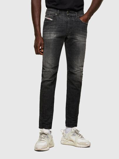 Diesel - D-Strukt 009JW, Black/Dark Grey - Jeans - Image 1