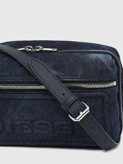 Diesel - FUTURAH II, Blue - Crossbody Bags - Image 6