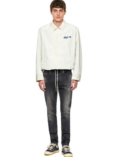 Diesel - D-Amny Skinny Jeans 009PX, Black/Dark Grey - Jeans - Image 5