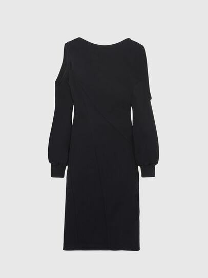 Diesel - D-REVERT, Black - Dresses - Image 1