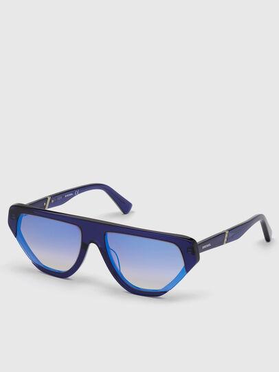 Diesel - DL0322, Azul - Gafas de sol - Image 2
