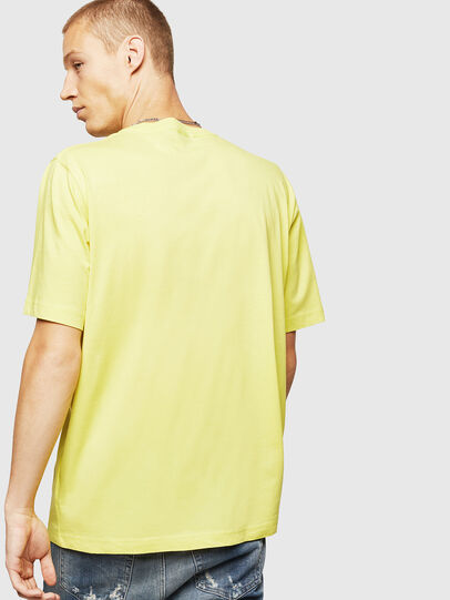 Diesel - T-JUST-B25, Yellow - T-Shirts - Image 2