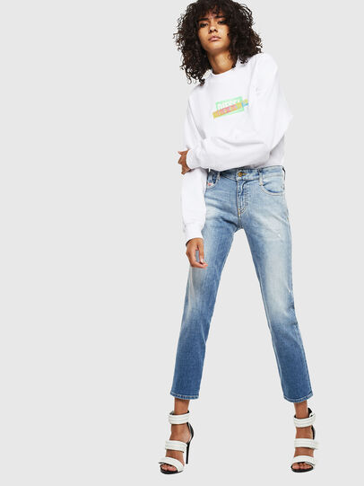 Diesel - F-ANG-S1, White - Sweatshirts - Image 4