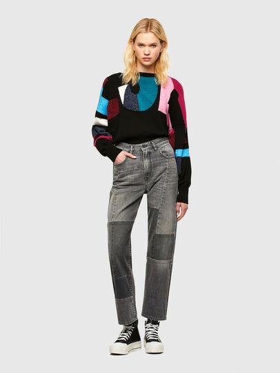 Diesel - M-MYSTIC, Black - Sweaters - Image 4