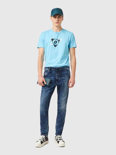 Diesel - Krooley JoggJeans® 069XE, Azul medio - Vaqueros - Image 4