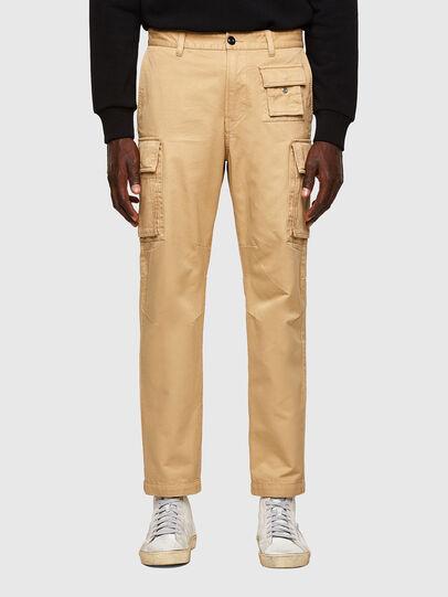 Diesel - P-COR, Light Brown - Pants - Image 1