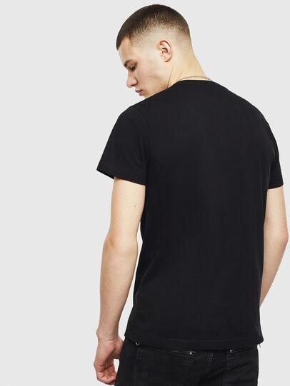 Diesel - T-DIEGO-S15, Black - T-Shirts - Image 2