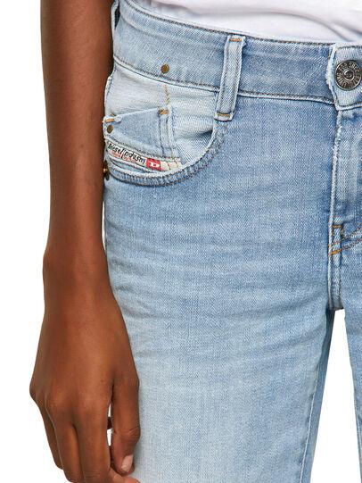 Diesel - D-Ebbey Bootcut Jeans 009ZZ, Light Blue - Jeans - Image 3