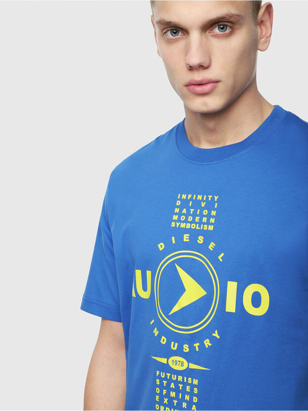 T-JUST-Y2, Brilliant Blue - T-Shirts