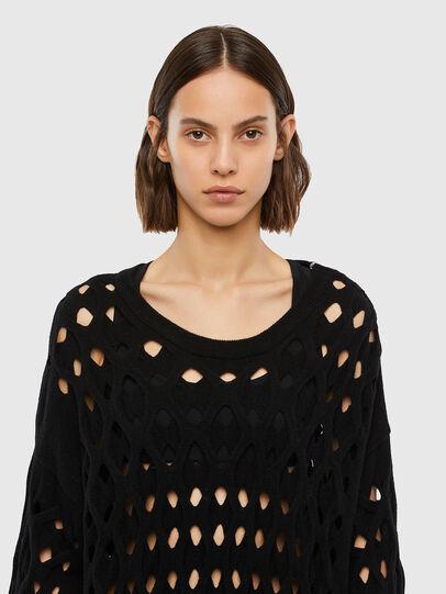 Diesel - M-RADHA, Black - Sweaters - Image 3
