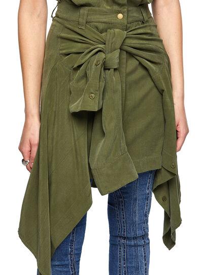 Diesel - D-GIUDITTA, Olive Green - Dresses - Image 3