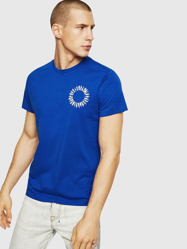 T-DIEGO-A12, Brilliant Blue - T-Shirts