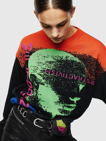 Diesel - K-MELTER, Multicolor/Black - Sweaters - Image 6