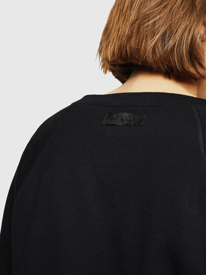 Diesel - F-HENNY-D, Black - Sweatshirts - Image 3