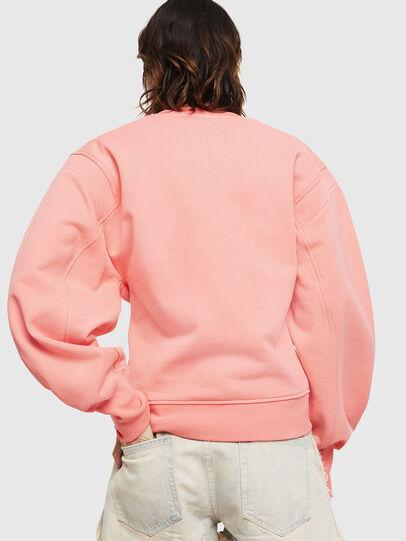 Diesel - F-AKIN, Pink - Sweatshirts - Image 2