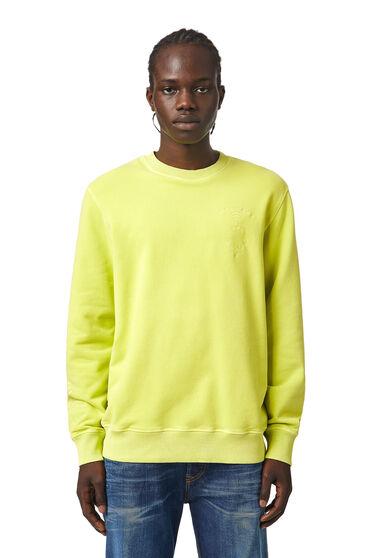 Sweatshirt with tonal embroidery