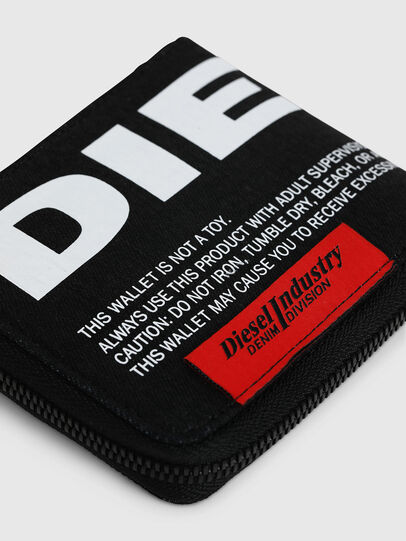 Diesel - ZIPPY HIRESH S, Black - Zip-Round Wallets - Image 4