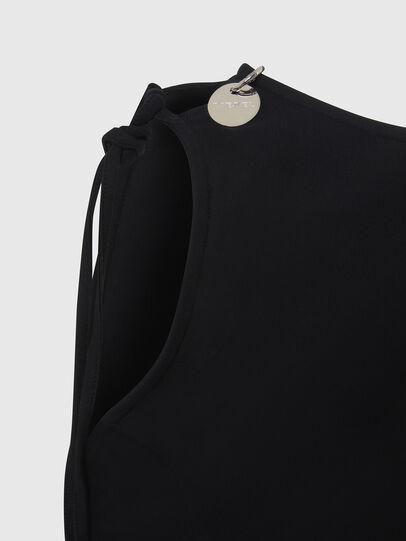 Diesel - D-REVERT, Black - Dresses - Image 4