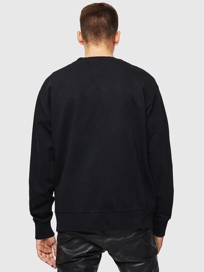 Diesel - S-BAY-B3, Black - Sweatshirts - Image 2