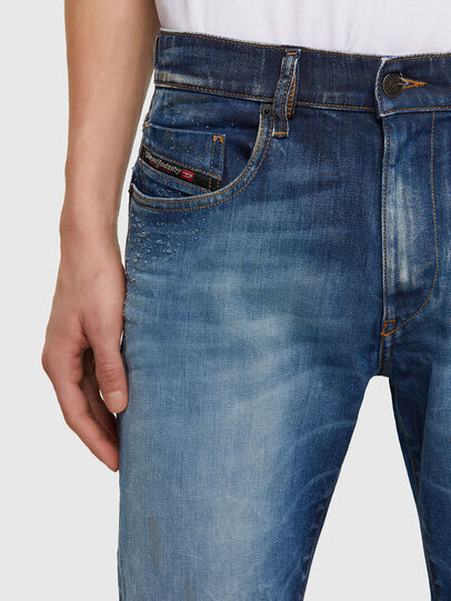 Diesel - D-Strukt Jeans 009NT, Medium Blue - Jeans - Image 3