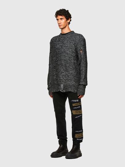 Diesel - K-JOSH, Black - Sweaters - Image 6