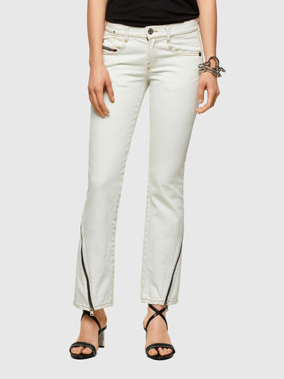 Diesel - D-Ebbey Bootcut Jeans 009ZA, White - Jeans - Image 1