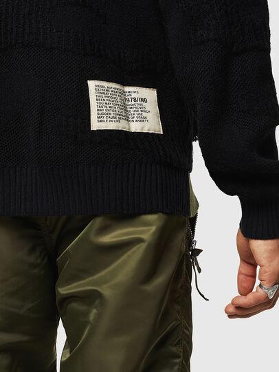 Diesel - K-MUSCHIO, Black - Sweaters - Image 5