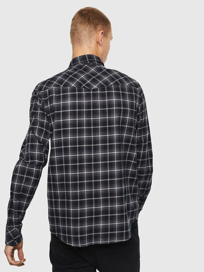 Diesel - S-EAST-LONG-N, Dark Grey - Shirts - Image 2