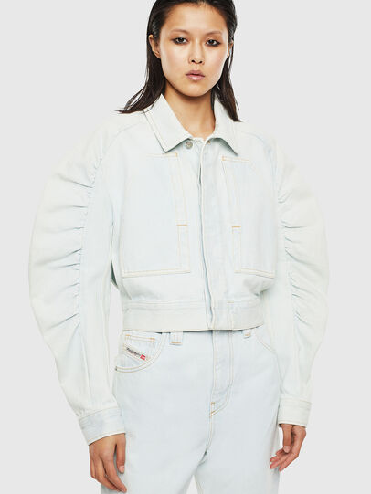 Diesel - DE-MERYL-R, Light Blue - Denim Jackets - Image 1