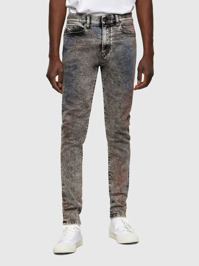 Diesel - D-Amny Skinny Jeans 009VG, Black/Dark Grey - Jeans - Image 1