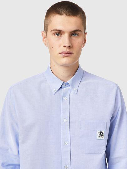 Diesel - S-JAMES-B, Light Blue - Shirts - Image 3