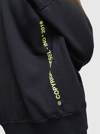 Diesel - S-ALBY-SUN, Black - Sweatshirts - Image 5