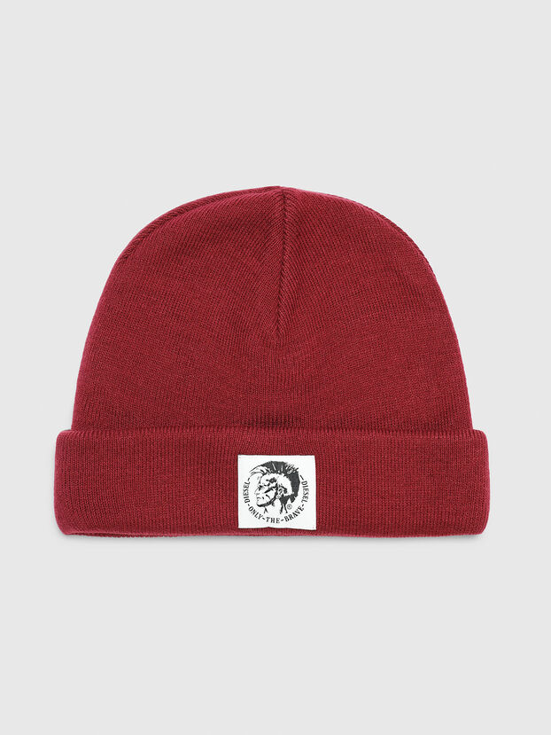 K-XAU, Burgundy - Knit caps