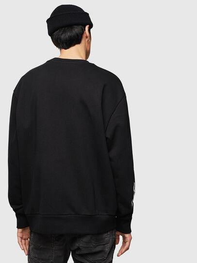 Diesel - CL-SNOR-LITMA, Black - Sweatshirts - Image 2