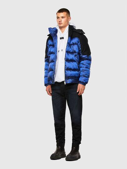 Diesel - W-NYWOOL, Blue - Winter Jackets - Image 6