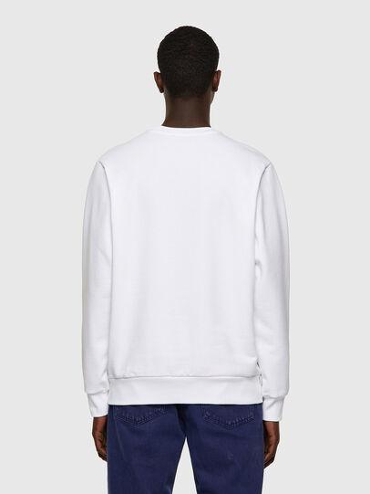 Diesel - S-GIRK-B6, White - Sweatshirts - Image 2