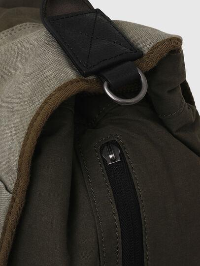 Diesel - VOLPAGO BACK ARMY, Olive Green - Backpacks - Image 5