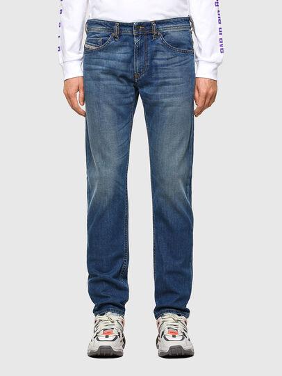 Diesel - Thommer Slim Jeans 009EI, Medium Blue - Jeans - Image 1