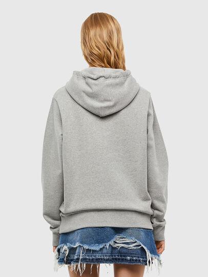 Diesel - S-GIRK-HOOD-N1, Grey - Sweatshirts - Image 4