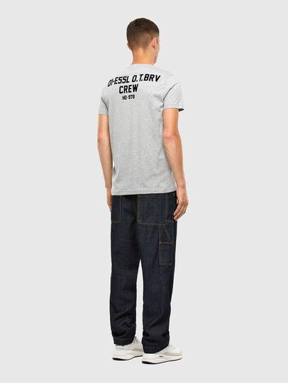 Diesel - T-DIEGOS-N26, Grey - T-Shirts - Image 4