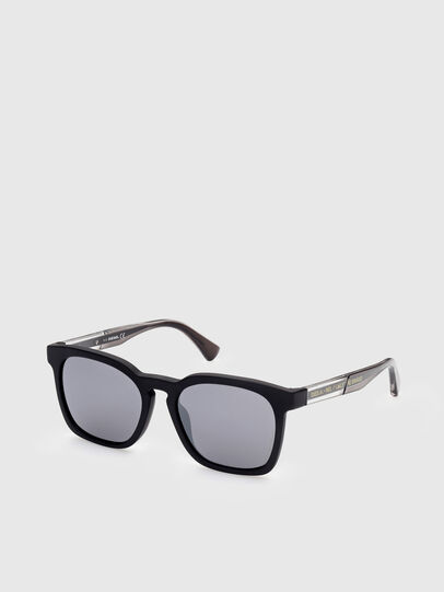 Diesel - DL0342, Black/Grey - Sunglasses - Image 2