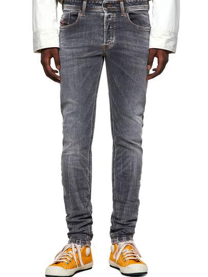 Diesel - Sleenker Skinny Jeans 009FW, Light Grey - Jeans - Image 1
